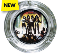 KISS Ash Tray - Love Gun, round