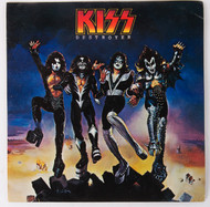 KISS Sticker - KISS Destroyer from 1976 Fan Club Packet