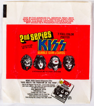 KISS Trading Cards - KISS Donruss Wax-Pack Wrapper, 2nd SERIES