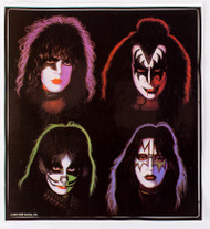 KISS Sticker - KISS Solo Album, LARGE 9""
