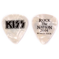 Kiss Guitar Pick - Rock the Nation, Pearl.