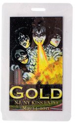 Laminate Pass - New Jersey KISS Expo 2011, GOLD
