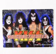KISS Sticker - No Substitutes
