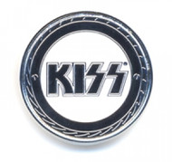 KISS Pin - Buzz Saw Logo