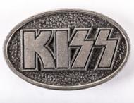 KISS Belt Buckle - Steel Logo, 1977