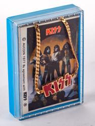 KISS Bracelet - Aucoin 1978, Red Logo