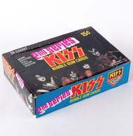 EBAY AUCTION - KISS Donruss Trading Cards, 2nd Series, full box - EBAY AUCTION