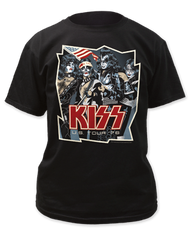 KISS T-Shirt - Spirit of '76