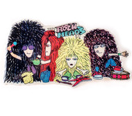 Eric Carr Pin - Rock Heads, Group