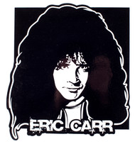"Eric Carr 7.5"" Head Sticker (A)"