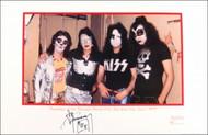 Ace Frehley Autographed Bleeker Street Loft Litho