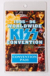 KISS Laminate Pass - Worldwide KISS Convention, blue