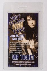 KISS Laminate Pass - KISS Expo St Louis '07