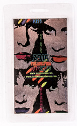 KISS Laminate Pass - KISS Expo Philadelphia 2010