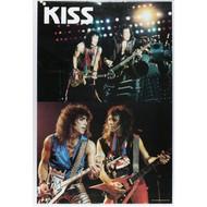 KISS Poster - Lick it Up '84 printed in Scotland