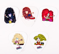 Eric Carr Guitar Picks - Rock Heads, set of 5
