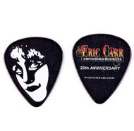 Eric Carr Guitar Pick - Unfinished Business Promo, (black)