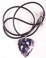 Eric Carr Guitar Pick Necklace - Bruce and Eric