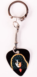 Eric Carr Guitar Pick - Solo keychain