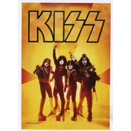 KISS Fabric Poster - Yellow Reunion
