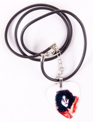 Eric Carr Guitar Pick - Unmasked necklace