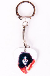 Eric Carr Guitar Pick - Unmasked keychain