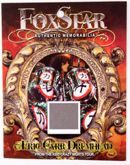 Eric Carr Drum Shell Relic - Chrome