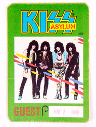 KISS Backstage Pass - KISS Asylum 1986, cloth