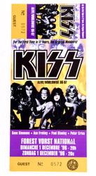 KISS Ticket - Germany 1996