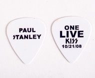 KISS Guitar Pick - Paul Stanley One Live KISS