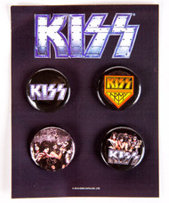 KISS Button Set - Multi-pack