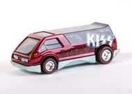 KISS Hotwheels Car - Red Van