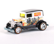 KISS Hotwheels Car - Black and White
