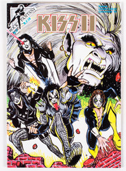 KISS Comic - KISS II Rock Fantasy