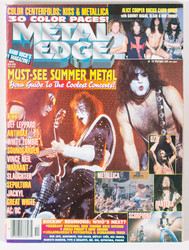 KISS Magazine - Must See Summer Metal October 1996