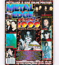 KISS Magazine - Metal Edge, What's Hot for 1999
