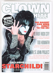 KISS Magazine - Clown White, Paul white, Winter 1999