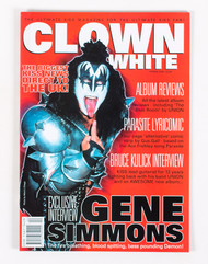KISS Magazine - Clown White, Gene 2000