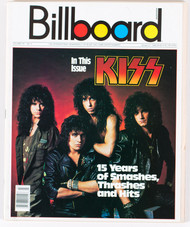 KISS Magazine - Billboard, 15 Years, January 1989