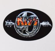 KISS Sticker - 40 Years, Decades of Decibels