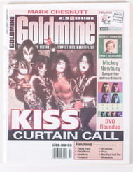 KISS Magazine - Goldmine 2000, KISS Curtain Call
