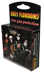 KISS Condom - Love Gun Protection (dent)