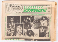 KISS Magazine - Rock Scene Backstage Scrapbook tabloid, 1977, (6/10)