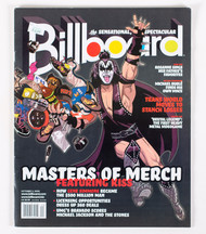KISS Magazine - Billboard, Masters of Merch, 2009
