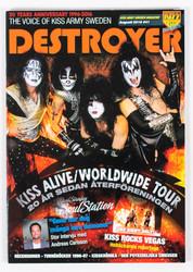 KISS Magazine - Destroyer, Sweden, August 2016