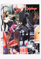 KISS Magazine - Epiphone Guitar Catalog, (feat. Ace's guitars)