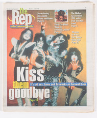 KISS Magazine - The Rep, tabloid