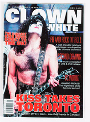 KISS Magazine - Clown White Summer 2000, Paul