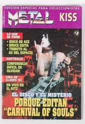 KISS Magazine - Metal KISS, (mini) 1997