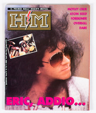 KISS Magazine - HM, Eric Addio...1991